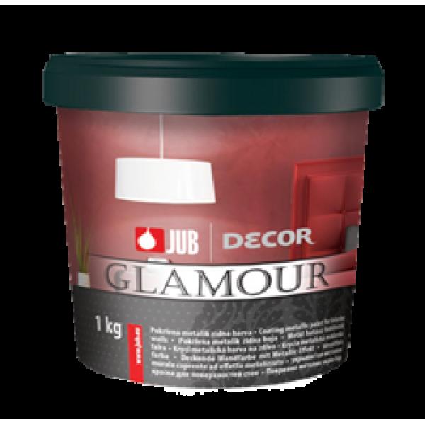 Vopsea de perete metalică Decor Glamour, auriu, 650 ml, Jub