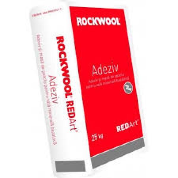 Adeziv pentru spacluire RedArt Collante, 25 Kg, Rockwool